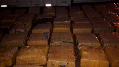 Impiden que cargamento de marihuana llegue a Mar del Plata