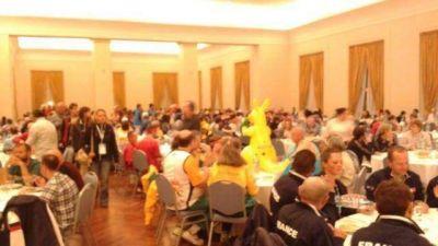 Realizaron la cena del Mundial de Deportistas Trasplantados