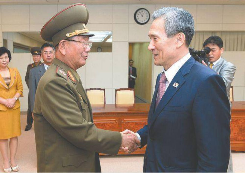 Las dos Coreas resolvieron la grave crisis