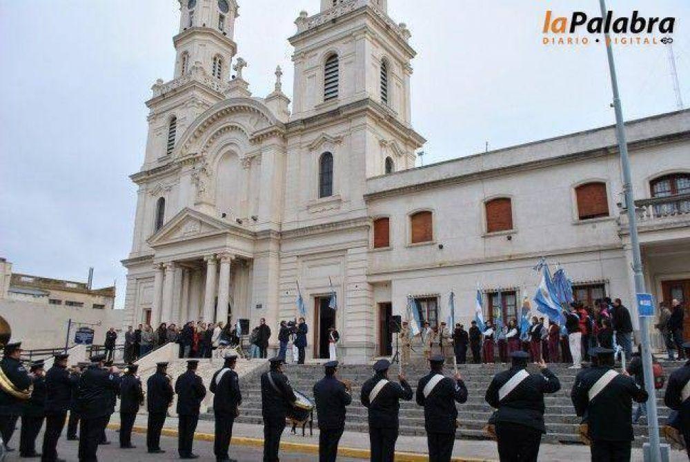 Curetti encabezó el acto homenaje al Comandante Luis Piedra Buena