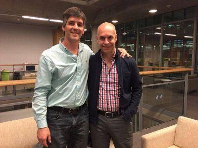 Pablo Delía se reunió con Rodríguez Larreta