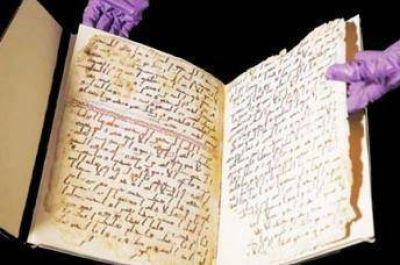 Hallan un ejemplar del Corán de 700 años de antigüedad en Indonesia