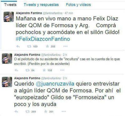 """FANTINO ADVIRTIÓ AL GOBERNADOR: """"comprá pochoclos y acomódate en el sillón Gildo!"""""""