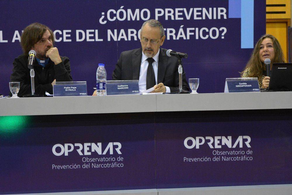 Alertan sobre el rol que debe asumir la sociedad civil y las instituciones para poder enfrentar el narcotráfico