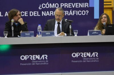 Alertan sobre el rol que debe asumir la sociedad civil y las instituciones para poder enfrentar el narcotr�fico