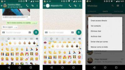 WhatsApp sumó un gesto obsceno a su lista de íconos