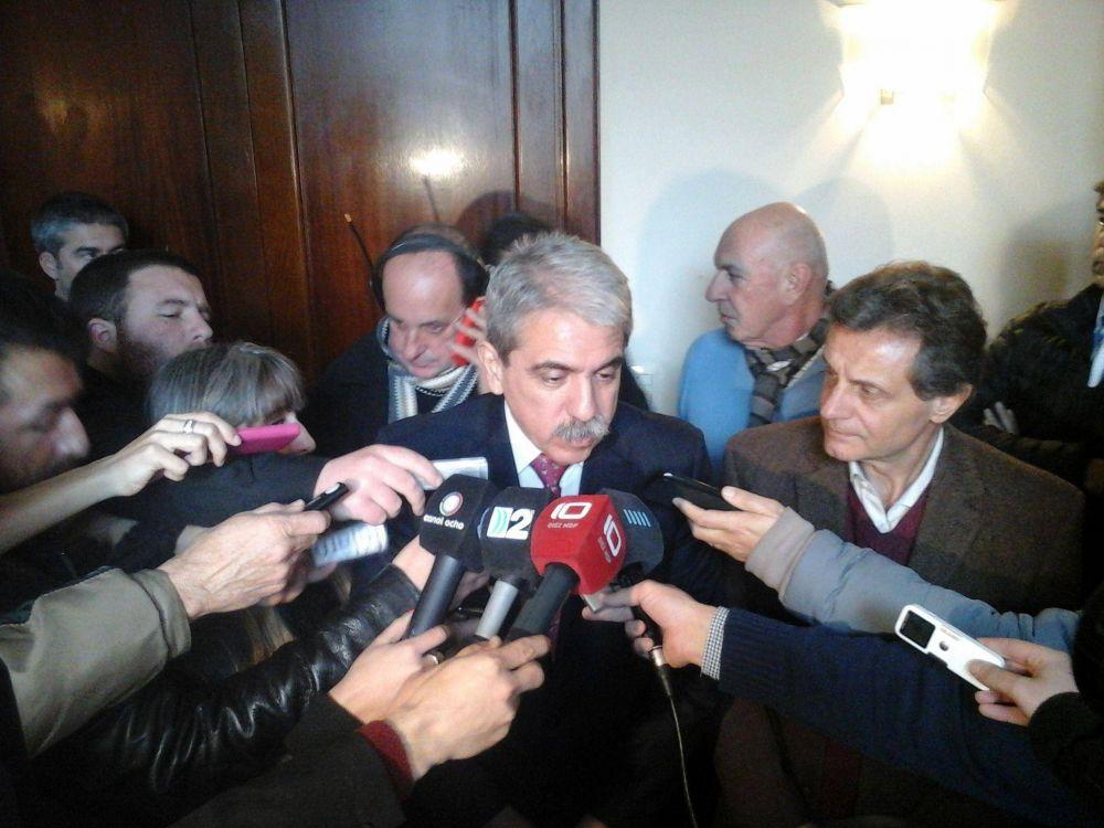"""Aníbal Fernández: """"El primer apoyo que sumé fue el de Domínguez y Espinoza"""""""