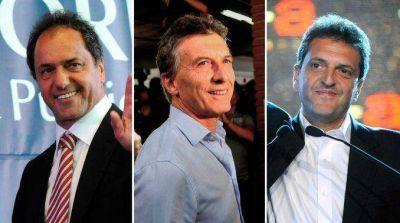 Tras disertar con el campo, Scioli, Macri y Massa se verán con empresarios en el Consejo de las Américas