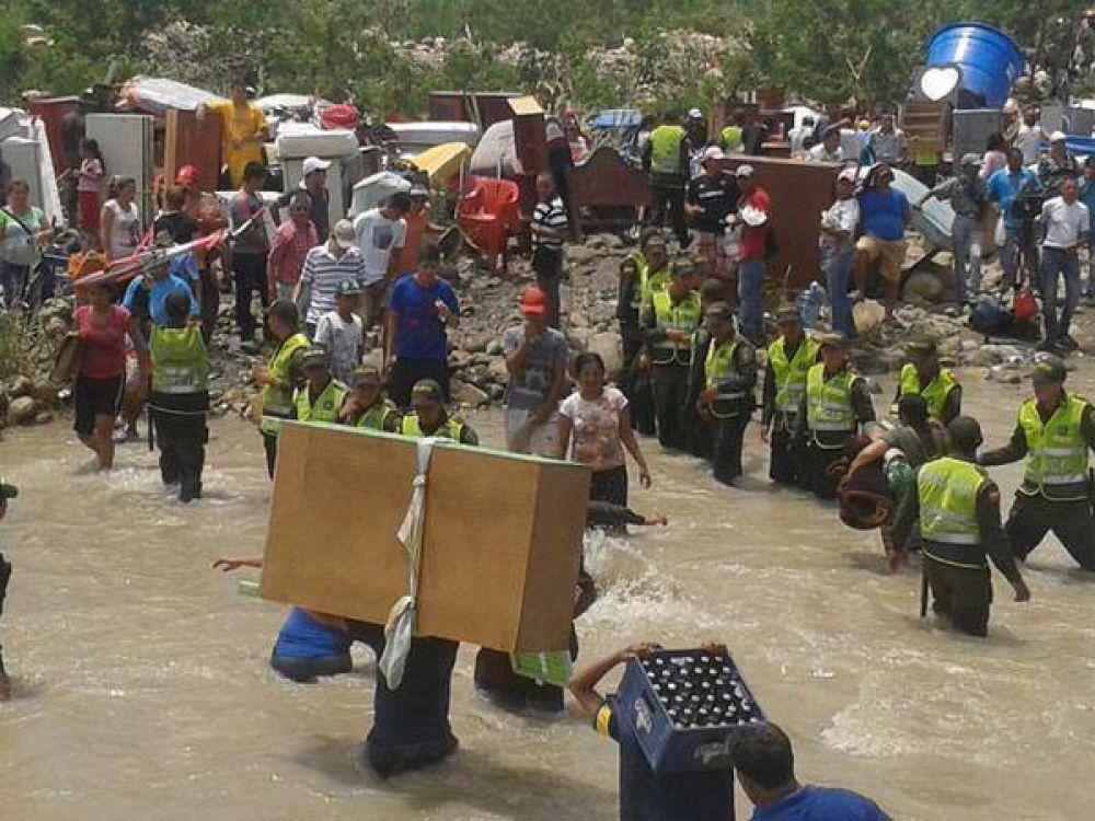 Obispo pide solidaridad con más de mil colombianos deportados de Venezuela