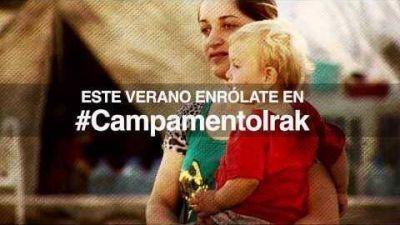 #CampamentoIrak llevará ayuda humanitaria a cristianos perseguidos