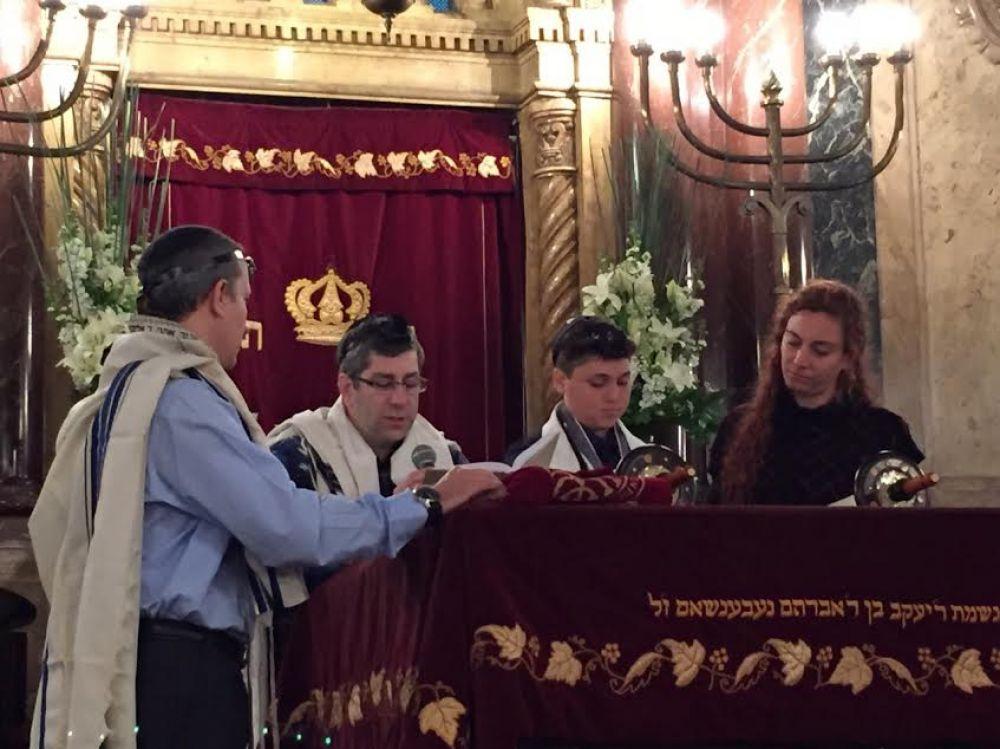 Fundación Judaica: Compartimos en Comunidad la celebración de un nuevo Bar Mitzvá de Judaica Norte