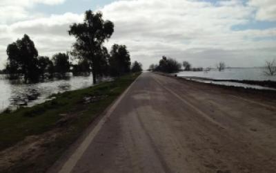 Río Salado: Siguen los inconvenientes en rutas bonaerenses