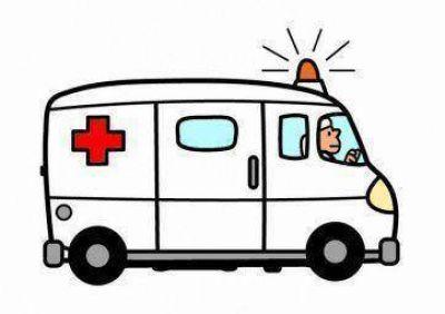 Llamado a la ambulancia en la Tercera sección