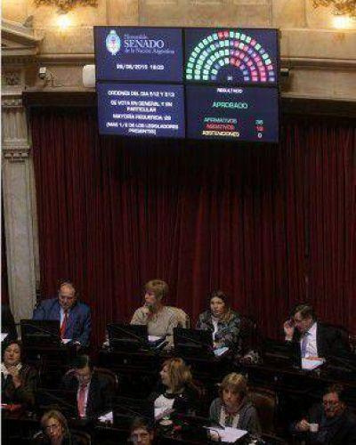 El Senado ratificó a Parrilli y Mena como jefes de la Agencia de Inteligencia