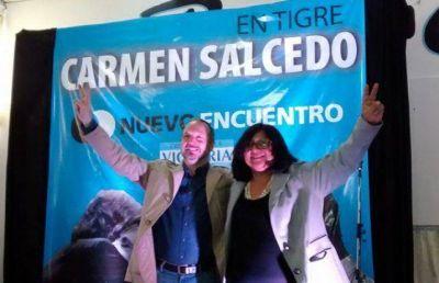 """Carmen Salcedo sobre Szpolski: """"No me gusta que venga un desconocido y pretenda cambiar nuestra conducta militante"""""""
