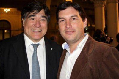 Gabriel Macchi con Carlos Zannini