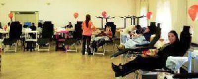 Más de 130 chivilcoyanos donaron sangre para el Hospital Posadas