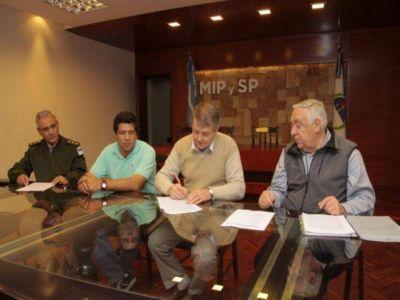 EL MINISTERIO DE INFRAESTRUCTURA CONSTRUIRÁ UN DESTACAMENTO DE GENDARMERÍA EN PALMA SOLA