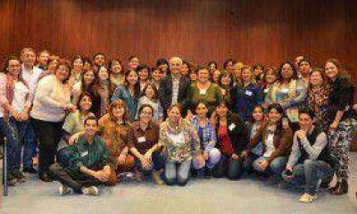 El ministro Luis Martínez acompañó, en su día, a los educadores de la salud