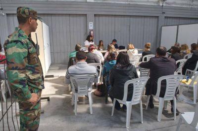 La JEP abrió ayer la mitad de las urnas escrutadas