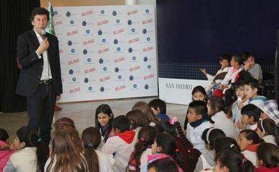 En San Isidro más de 900 alumnos participaron de talleres para prevenir el bullying
