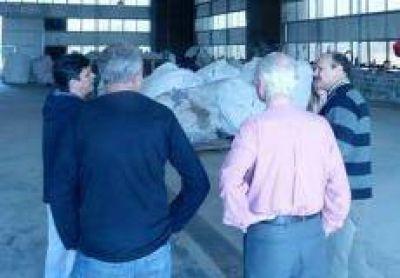 Nouet recorrió planta de tratamiento de residuos de Pergamino para replicarla en San Pedro