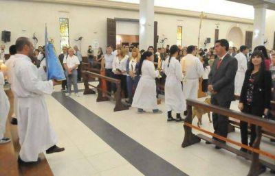 Emotiva misa en honor a San Fernando Rey