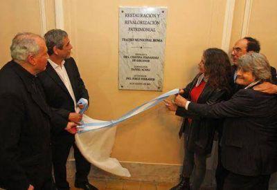 El Teatro Roma reabrió sus puertas para todos los vecinos de Avellaneda