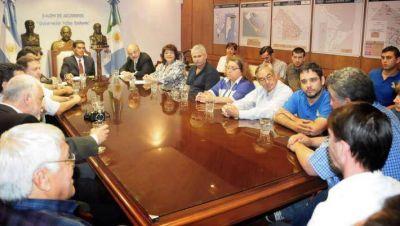 Junto al Gobernador, Tomada se reunió con la CGT y destacó: