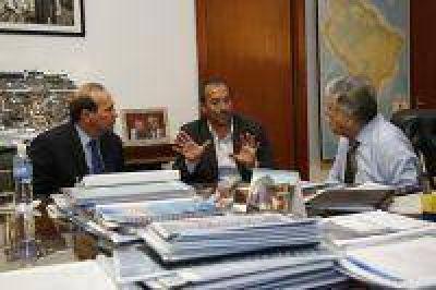 De Vido se reunió con el Intendente de General Belgrano