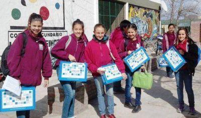Conectar Igualdad: entrega de netbooks en Castex