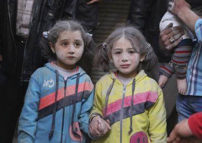 Siria; encontrar a Dios haciendo fila por un poco de agua