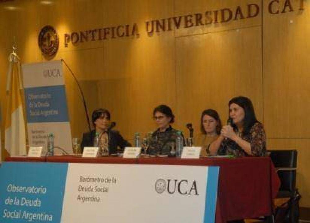 UCA: Un 40% de la infancia y adolescencia pertenece a hogares pobres