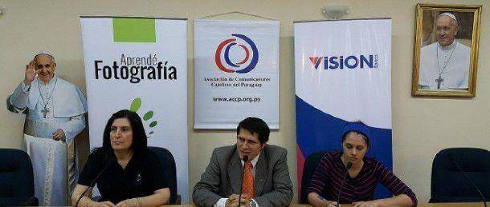 "Comunicadores católicos lanzan concurso de fotografía ""Francisco en Paraguay"""