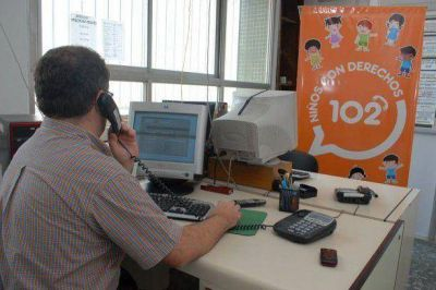 Confirman problemas con el servicio del 102 y aportan nuevos tel�fonos para denuncias por menores en situaci�n de riesgo