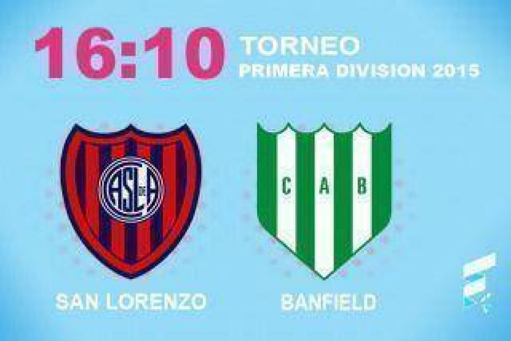 San Lorenzo buscará asegurarse la punta ante Banfield antes de visitar a Boca