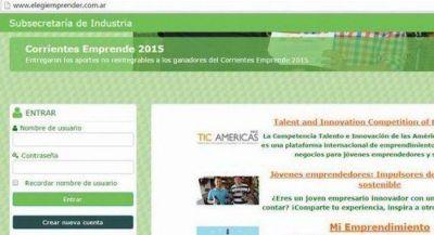 Eleg� Emprender, una plataforma para fomentar el desarrollo local