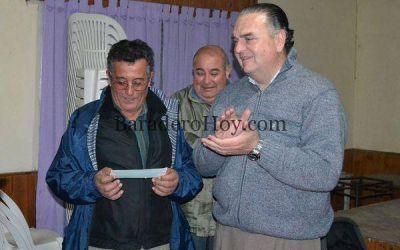 Subsidio entregado al Club Social y Deportivo de Santa Coloma.