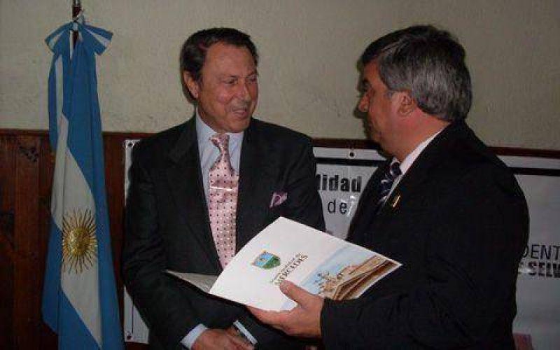 Casal se reunió con representantes del Departamento Judicial Mercedes