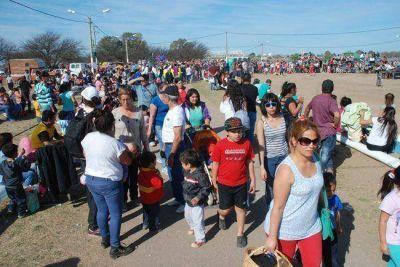Más de 10 mil personas en el festejo del Día del Niño