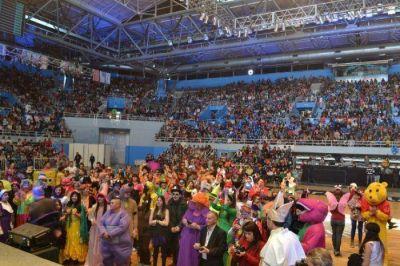 CEFIL le regaló una tarde inolvidable a más de 7.000 niños en el Polideportivo