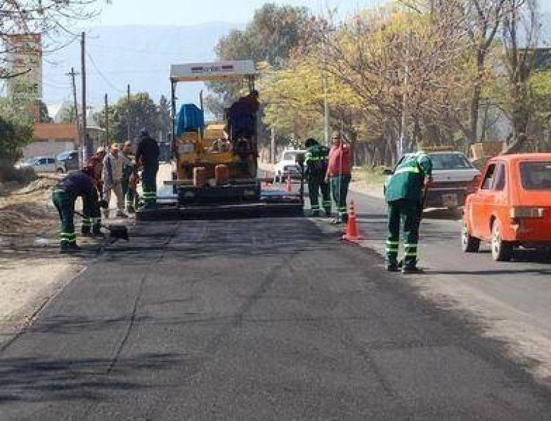 Tras dos años sin arreglarla, repavimentaron la Ruta Nº 33