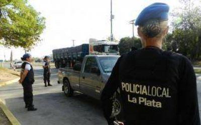 Marcha contra Policía Local de La Plata luego de que agente borracho abriera fuego en una disco