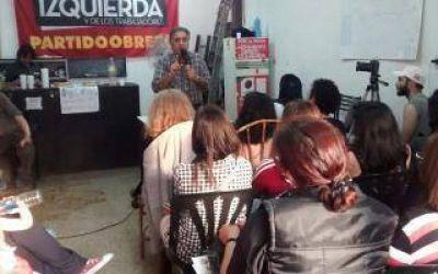 Elecciones 2015: Pitrola presentó candidatos en San Martín