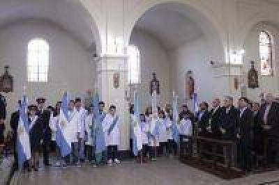 De Vido cisitó Castelli con motivo del 150ª aniversario