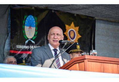 """Bonfatti abogó para que """"la Policía recupere el respeto de los santafesinos"""""""