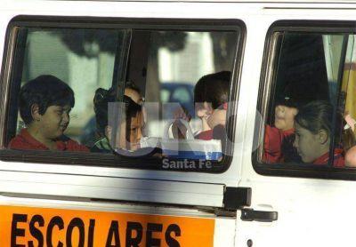 Desde este martes, el transporte escolar cuesta entre 650 y 1.000 pesos