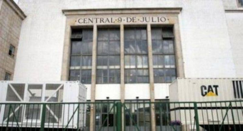 Trabajadores de Luz y Fuerza iniciaron un paro de 36 horas en la Central 9 de Julio