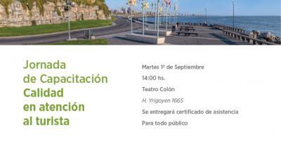 Jornada de Capacitación Masiva en Calidad en Atención al Turista