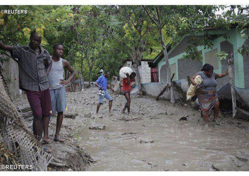 Dolor del Papa por las consecuencias del huracán Erika en el Caribe